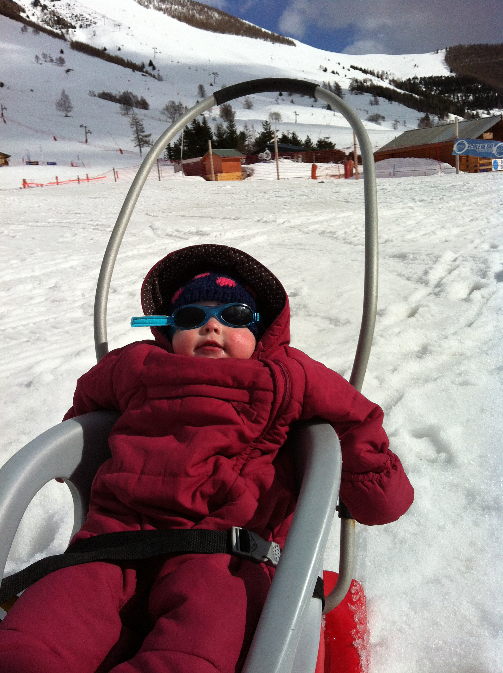 Les Deux Alpes With A Snow Baby Skiworld Blog