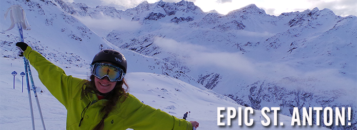 Katie wins an EPIC ski holiday