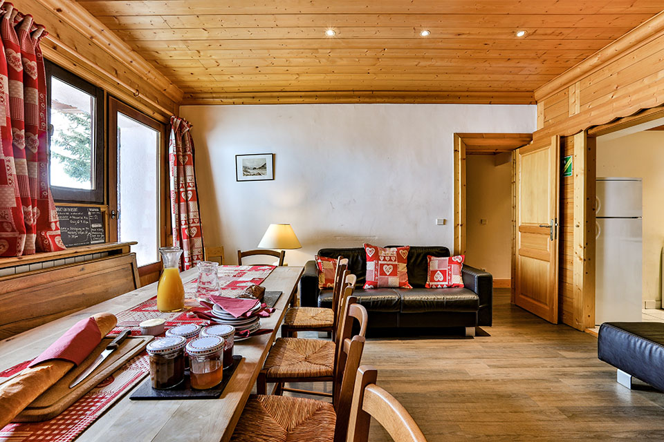 Maison Rose Chalet interior