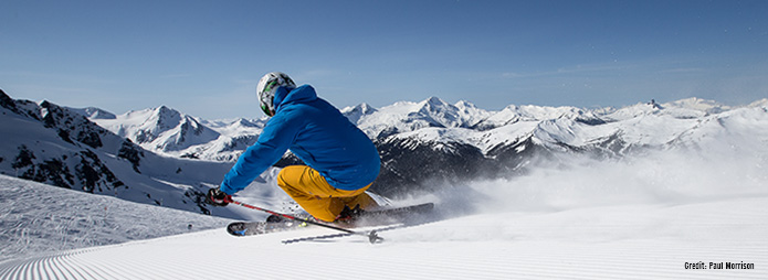 Ski Whistler, British Columbia