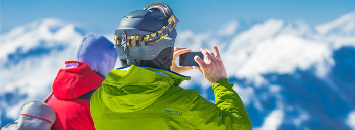 Mobile Phones on the Slopes