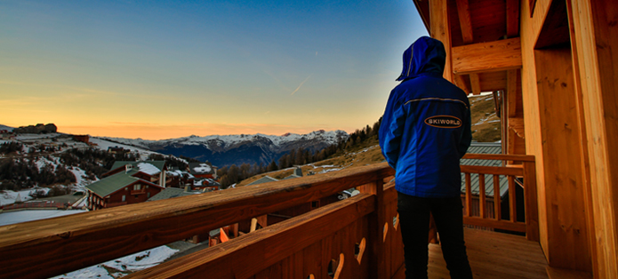 Nick, Resort Host 'gazing' into the distance