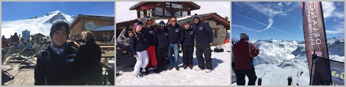 Snow-Camp trip to Tignes Group Photos