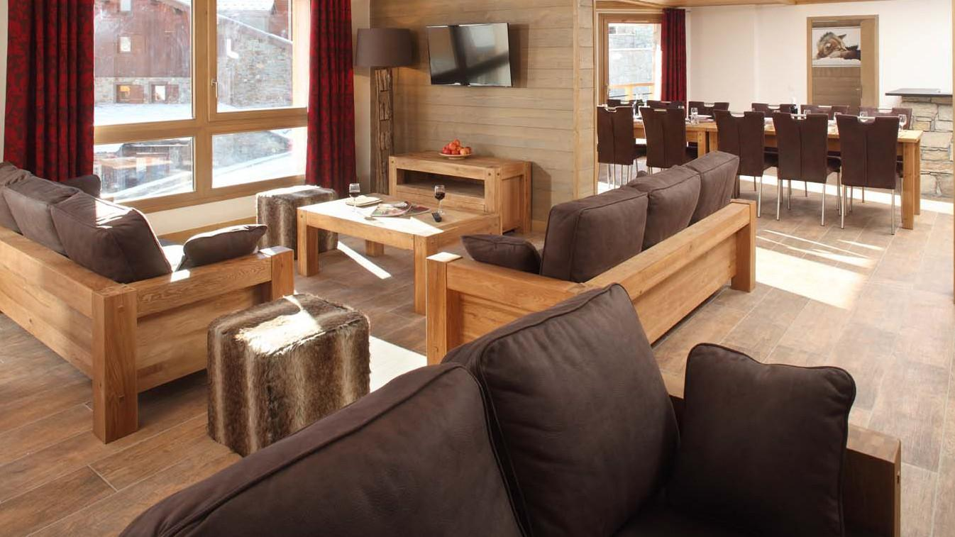 Giorgio - Chalet in Tignes, France, living room