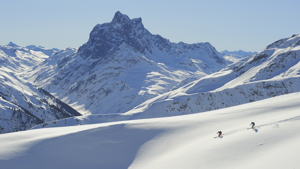 Skiing in Europe - St Anton