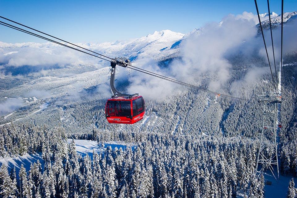 Peak to Peak Gondola - Whistler
