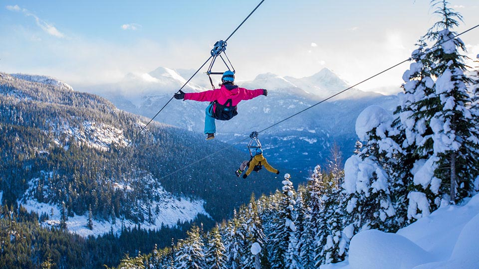 None skiing activities in Whistler