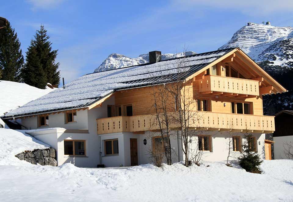 Chalet Alpenland, Lech - Exterior