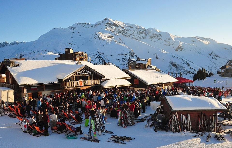 Apres ski bar in Avoriaz ©Virginie Dupé Avoriaz Tourisme