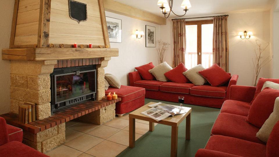 Chalet Francois, Tignes - Living area