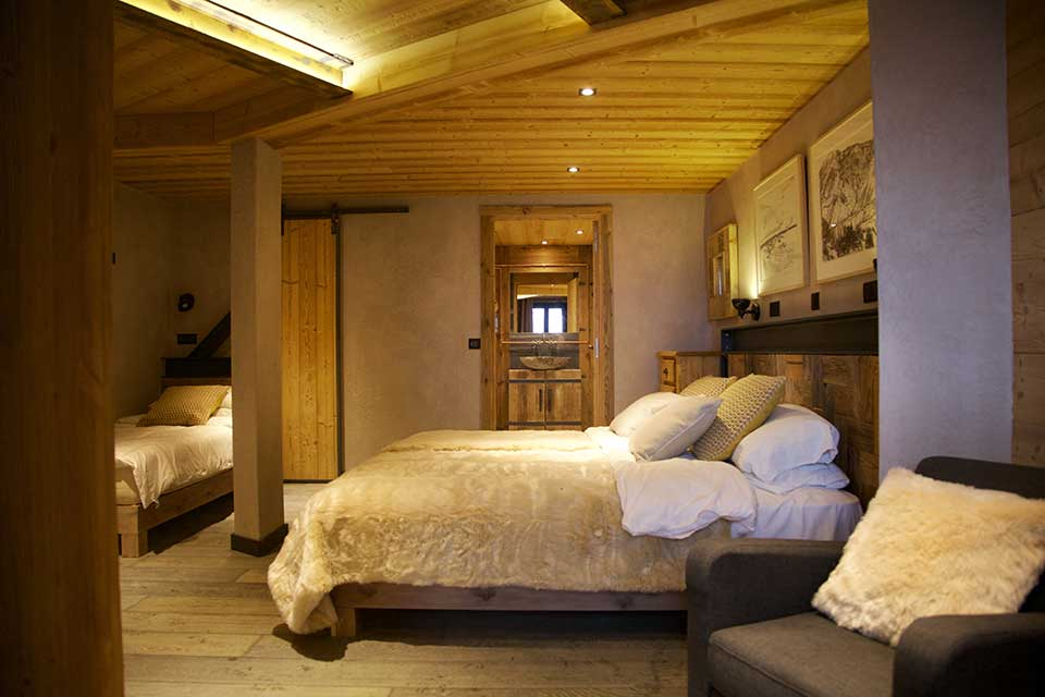 Chalet Jacques, Courchevel - Bedroom