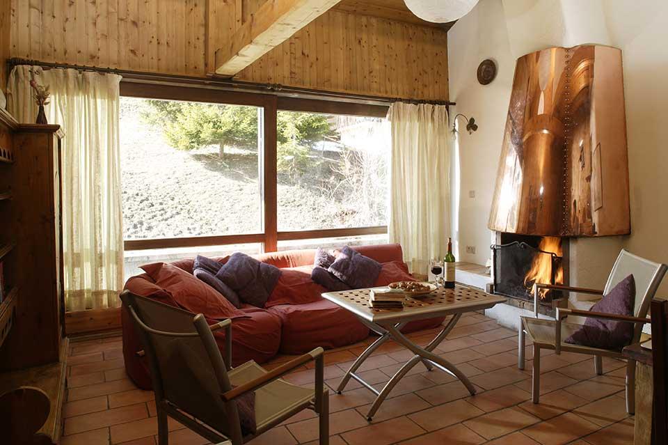 Chalet Val Rogoney, Val d'Isere - Living area