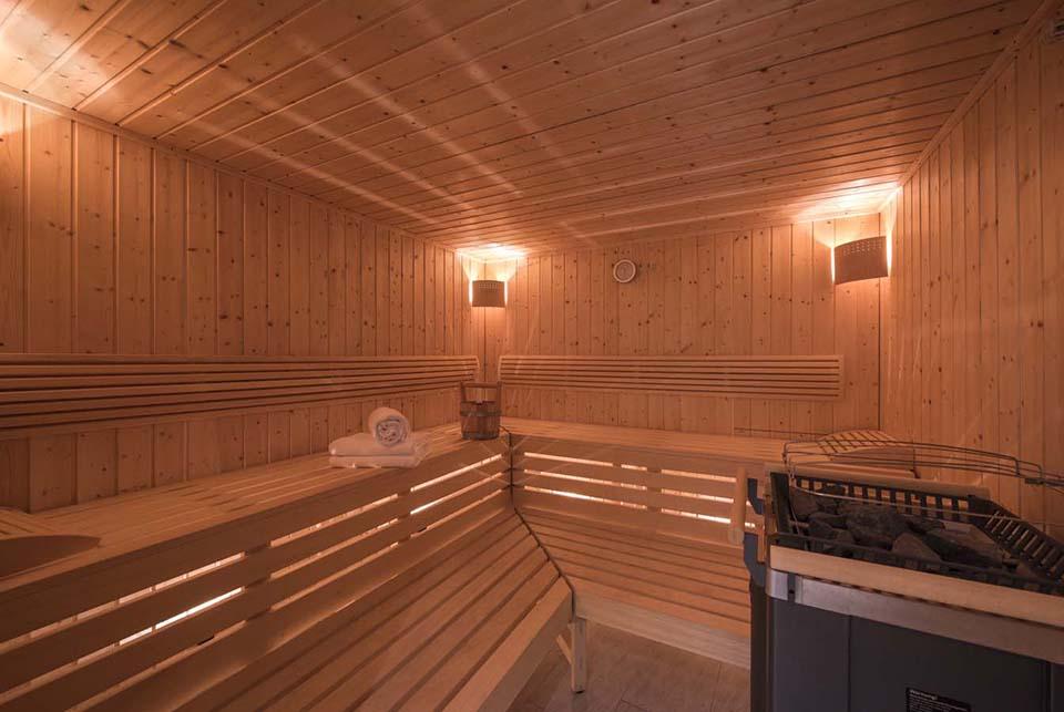 Sauna at Chalet Cirrus in St Anton, Austria
