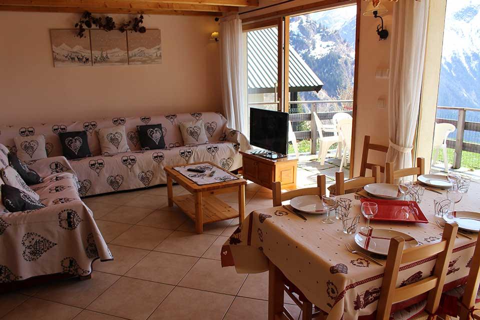 Chalet Gorges, Les Deux Alps - A chalet with a view of the Roc,h de la Muzelle