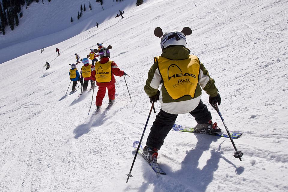 Ski School - © 2008 Henry Georgi