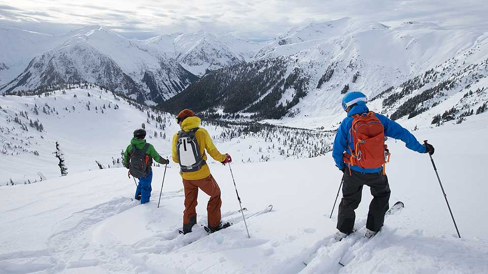 Discussing decisions in avalanche terrain