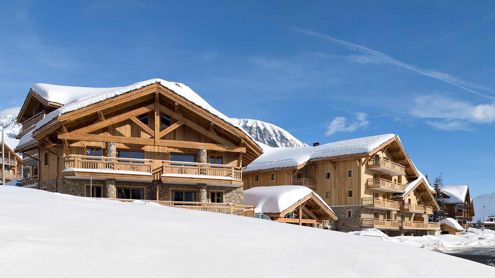 Apartments Exterior - Le Cristal de l'Alpe Apartments
