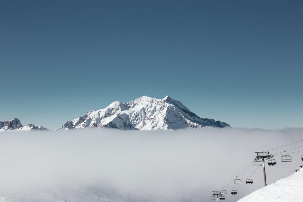 The Grand Motte Glacier views