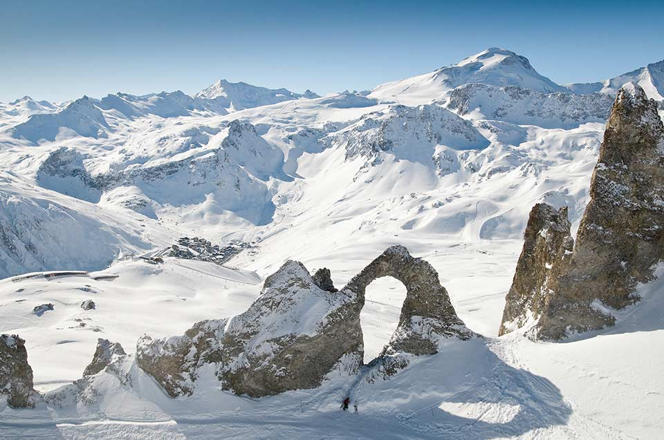 Tignes - Eye of the Needle
