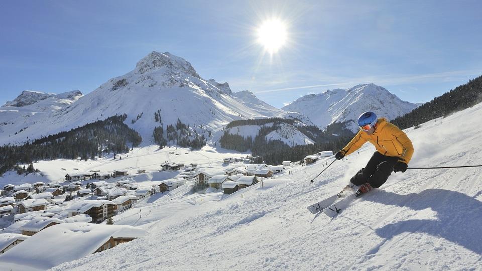 Skier in Austria - ©Sepp Mallaun