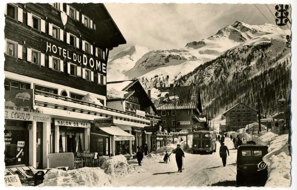 Historical Val d'Isere Village