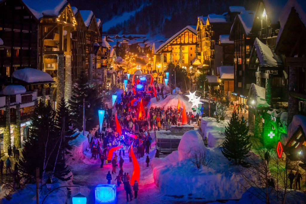 New Year in Val d'Isere