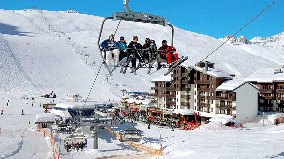 Le Rond Point des Pistes Apartments Ski In Ski Out