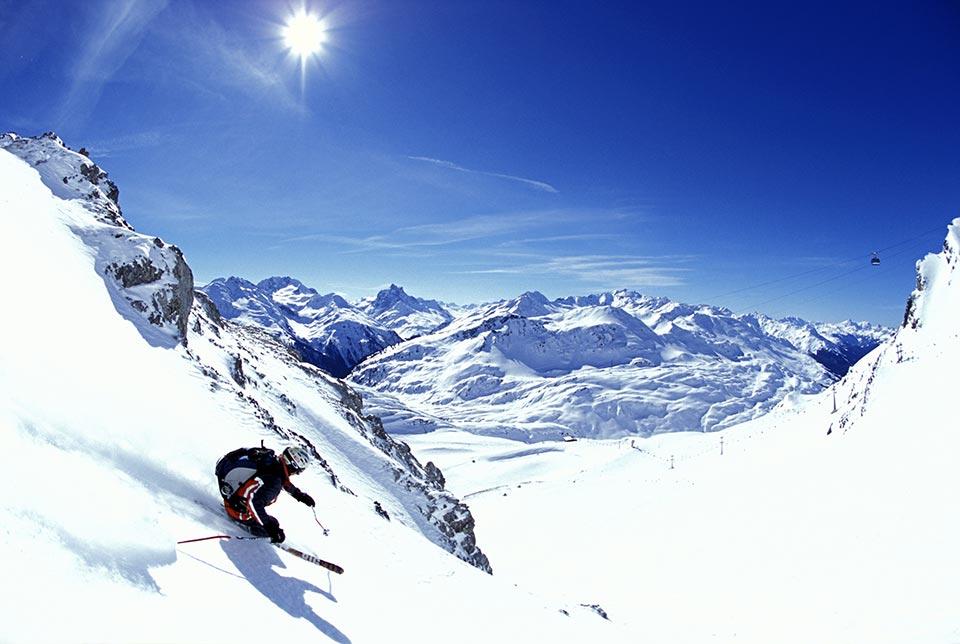 St-Anton-skier