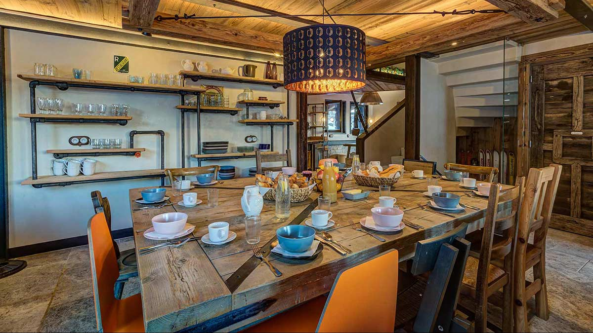 Chalet Benjamin, Courchevel - Dining