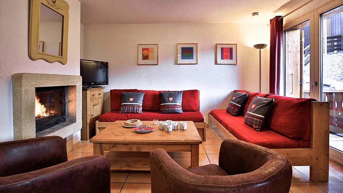 Chalet Guillaume - La Plagne - Lounge