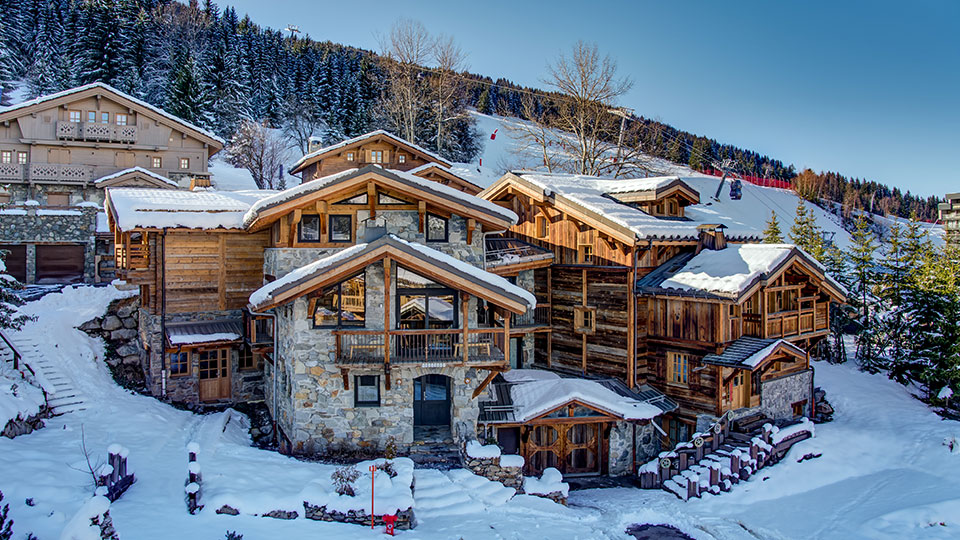 Chalets Samuel, Benjamin & Jacques in Courchevel - Skiworld