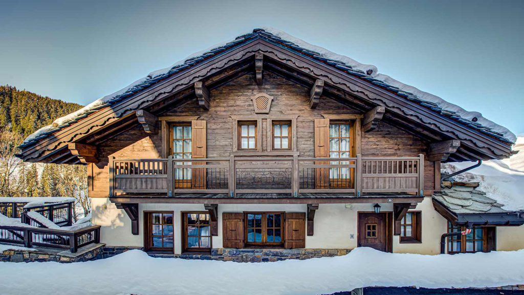 luxury ski chalet Courchevel