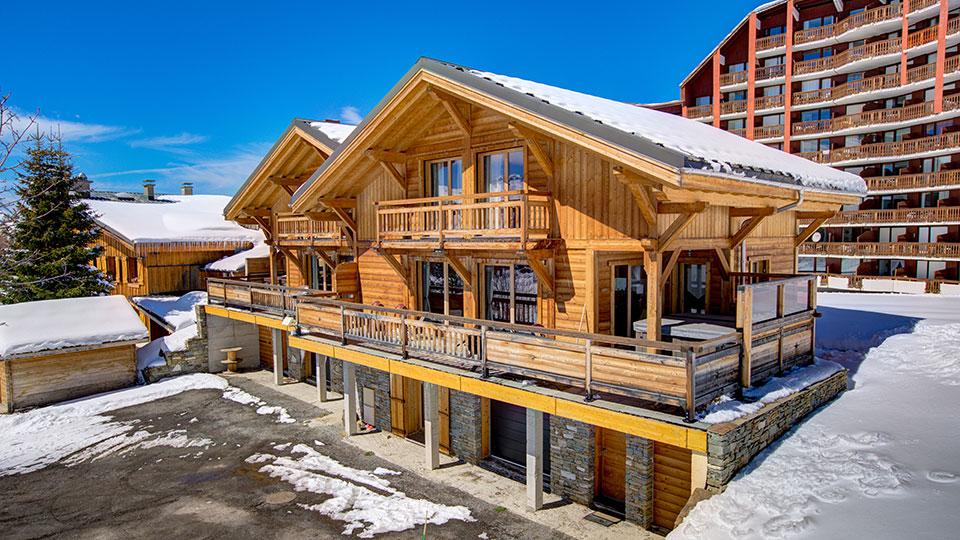 Chalet Rebeque, Alpe dHuez - Skiworld