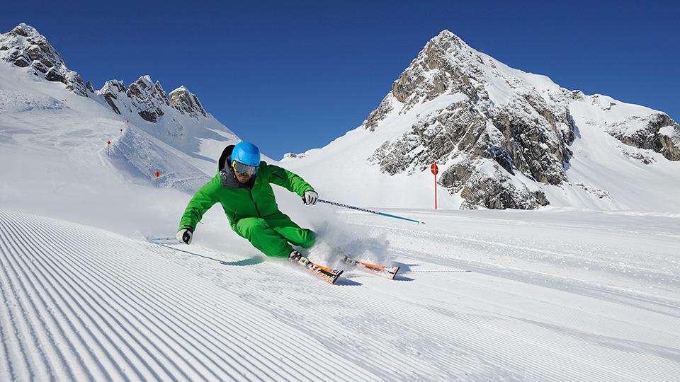 Piste Skiing, St Anton am Arlberg