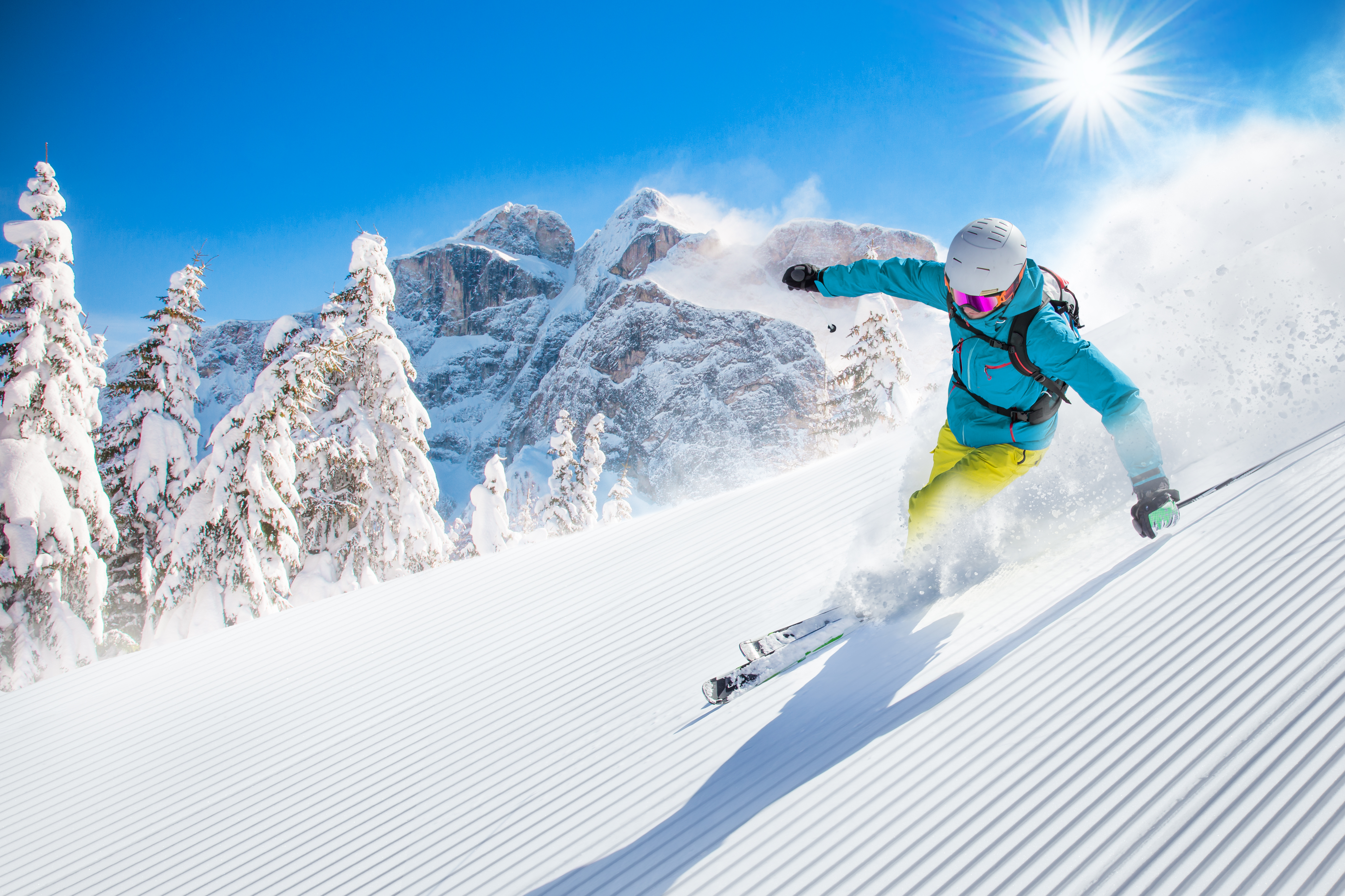 2022, the year of the skier