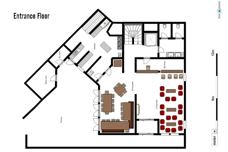 Ski lodge aigle tignes france skiworld Lodge floor plans