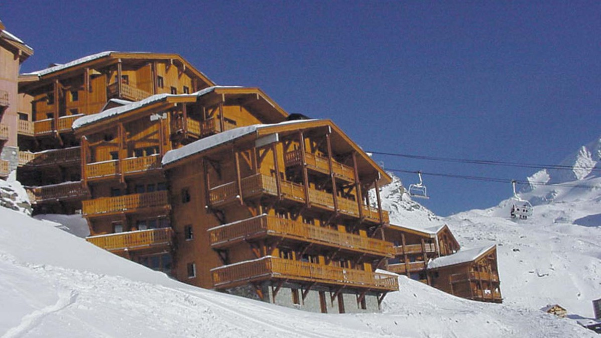 Chalet Abricot exterior, Val Thorens