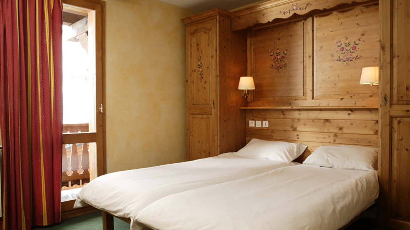 Chalet Abricot bed, Val Thorens