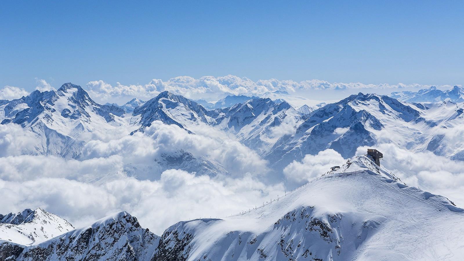 Alpe d'Huez scenery