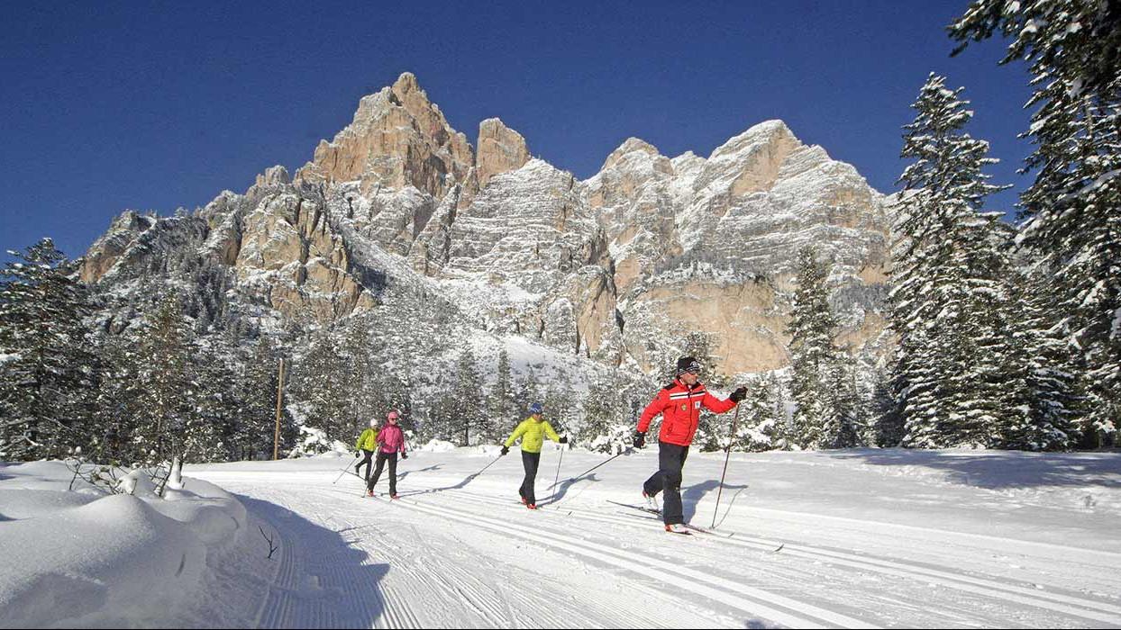 Alta Badia Fondo Langlaufen Cross Country skiing