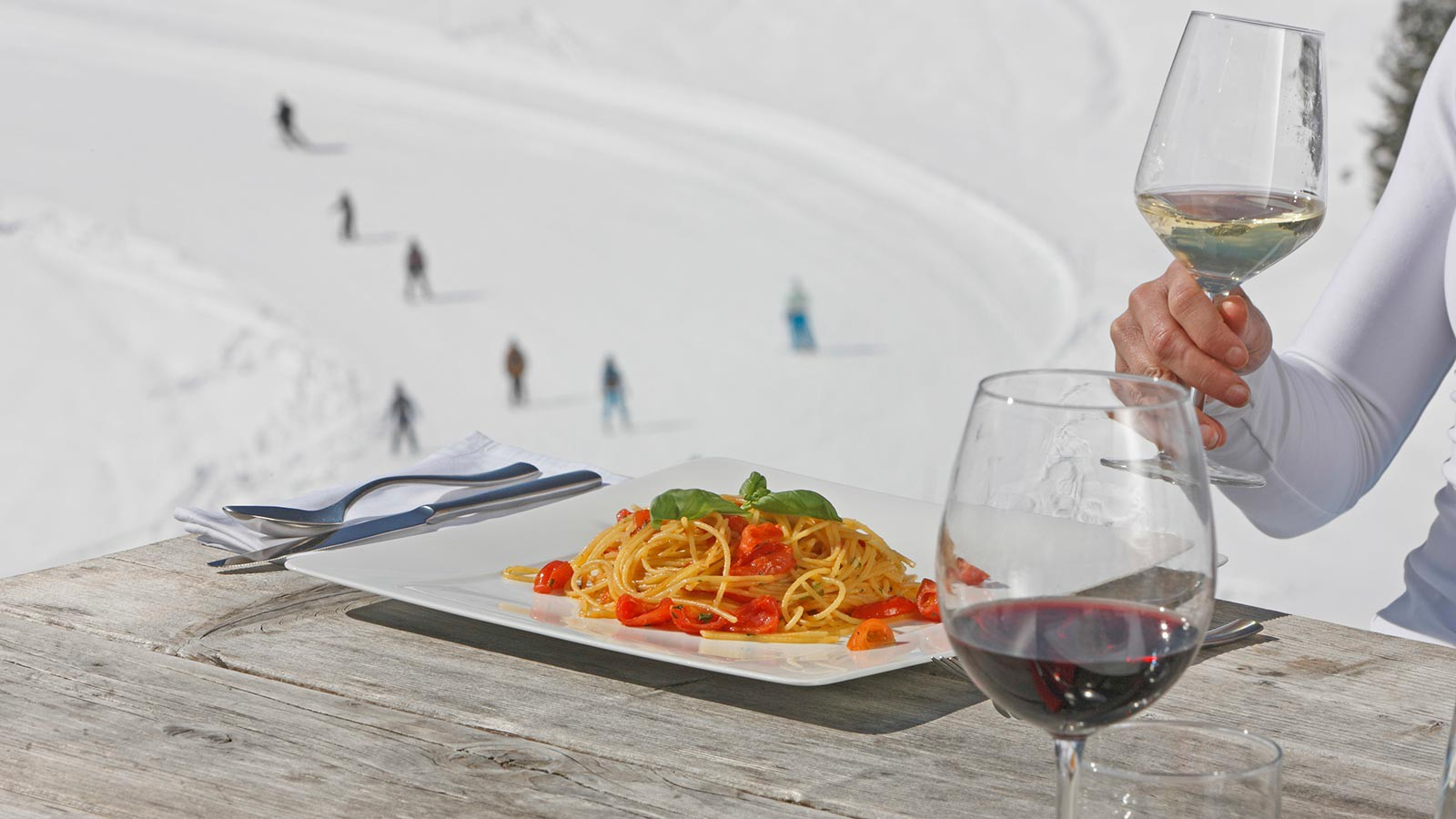 Alta Badia Food and Skiing - copyright IDM Südtirol - Frieder Blickle