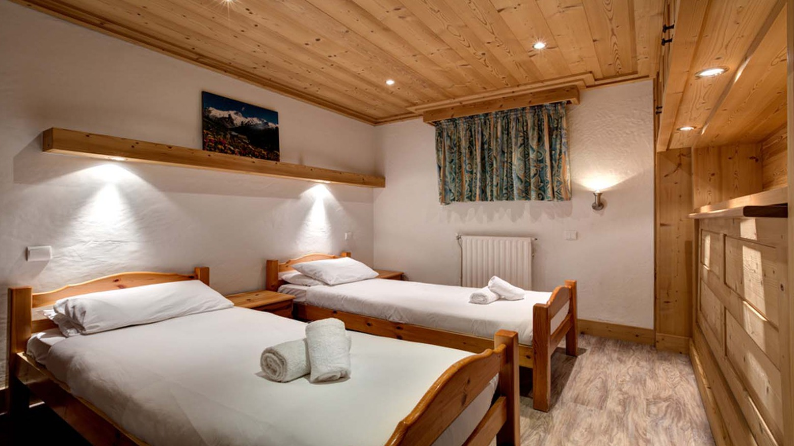 Bedroom, Chalet Andre - ski chalet in Meribel, France