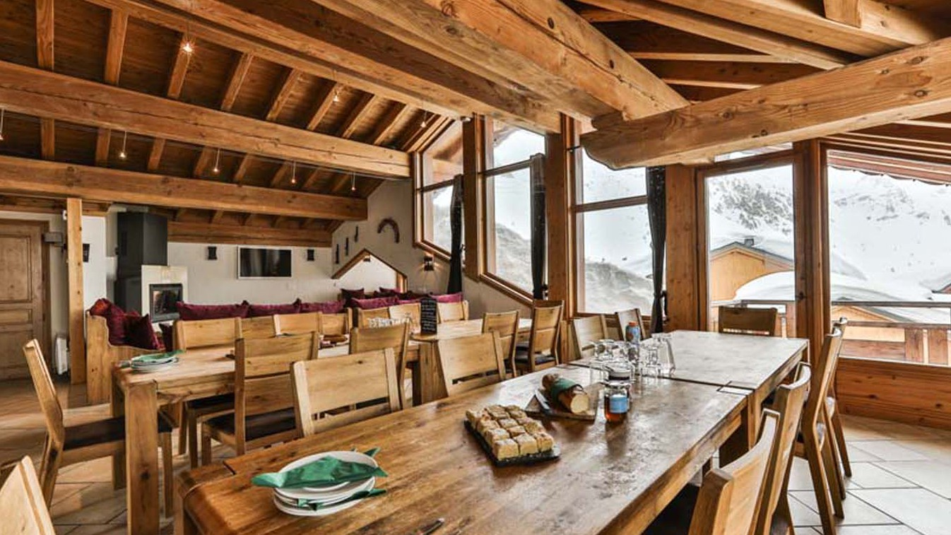 Dining Area, Chalet Annapurna II, Tignes, France