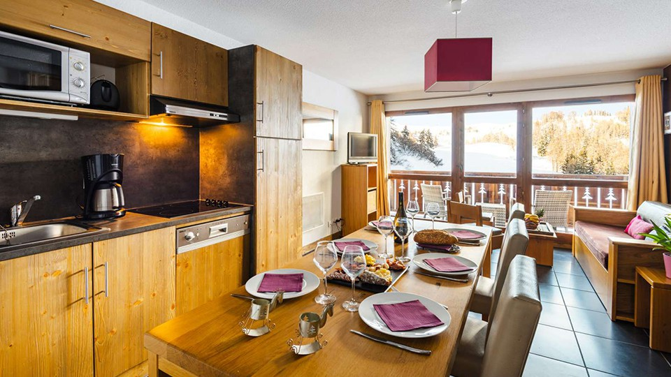 Apartment at Residence Les Chalets Edelweiss, La Plagne