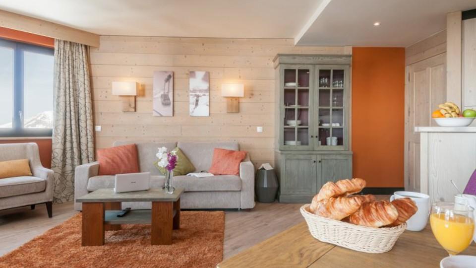 Apartment Interior, Residence L'Amara, Avoriaz, France