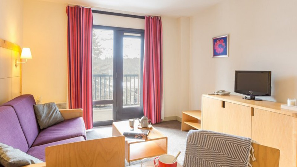 Apartment Interior, Residence La Foret, Flaine, France
