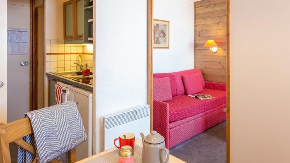 Intérieur de l'appartement, Résidence Les Chalets des Arolles, La Plagne, France