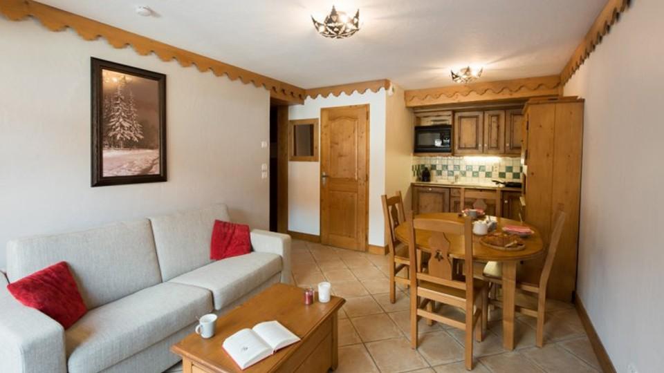 Apartment Interior, Residence Les Fermes du Soleil, Flaine, France