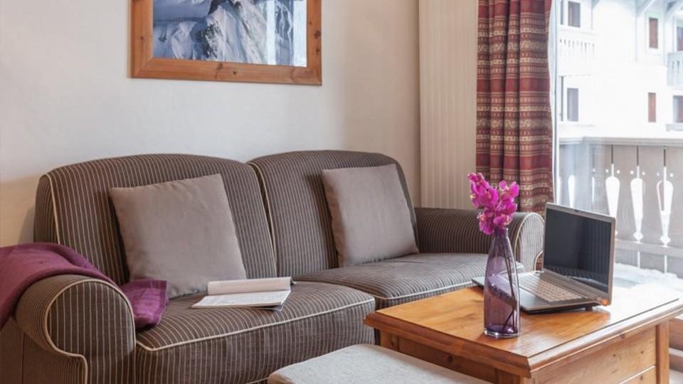 Living Area, Residence La Ginabelle, Chamonix, France