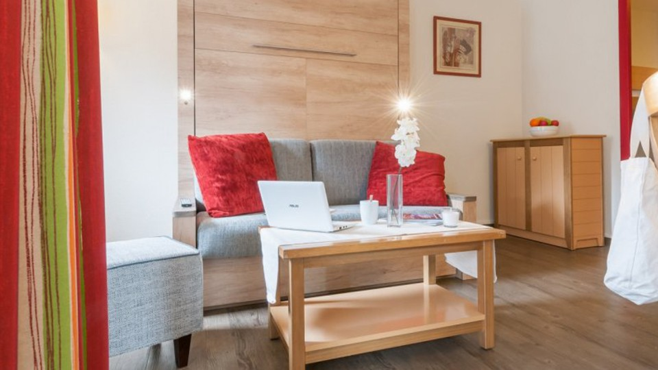 Living Area, Residence La Rivere, Chamonix, France